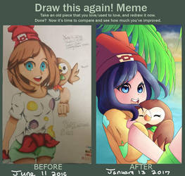 Improvement Meme by KittyClawss