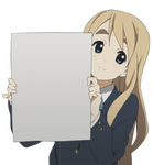 Tsumugi Blank Poster