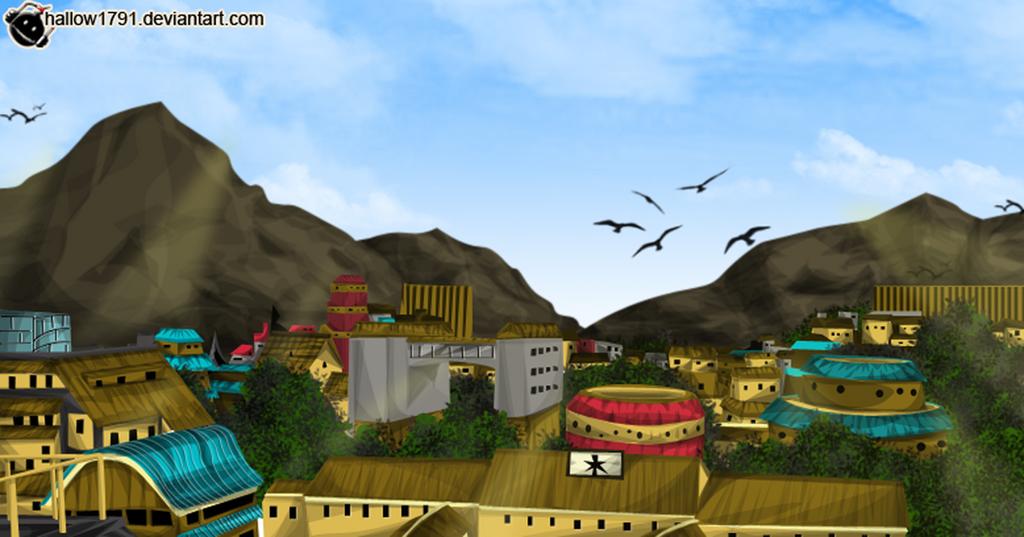 Konoha Village Png Deviantart: Konoha~ Naruto607 By Hallow1791 On DeviantArt