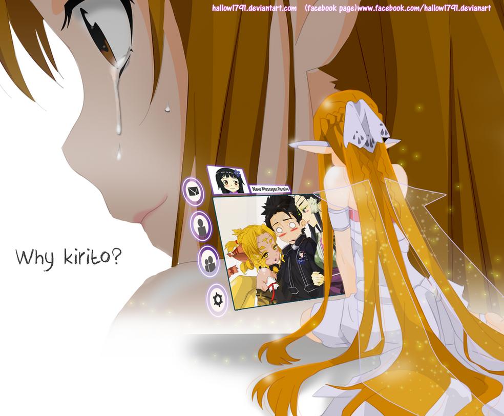Asuna Tears ~ Sword Art Online (alfheim) by hallow1791