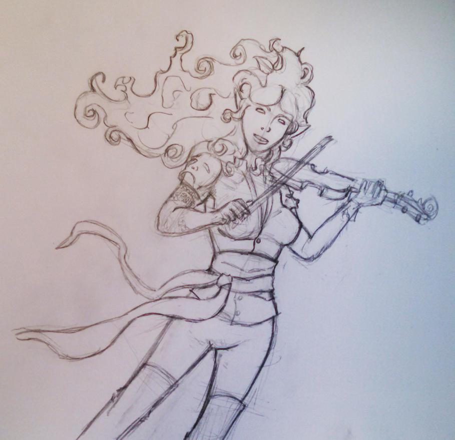 Joane sketch by jestersforce