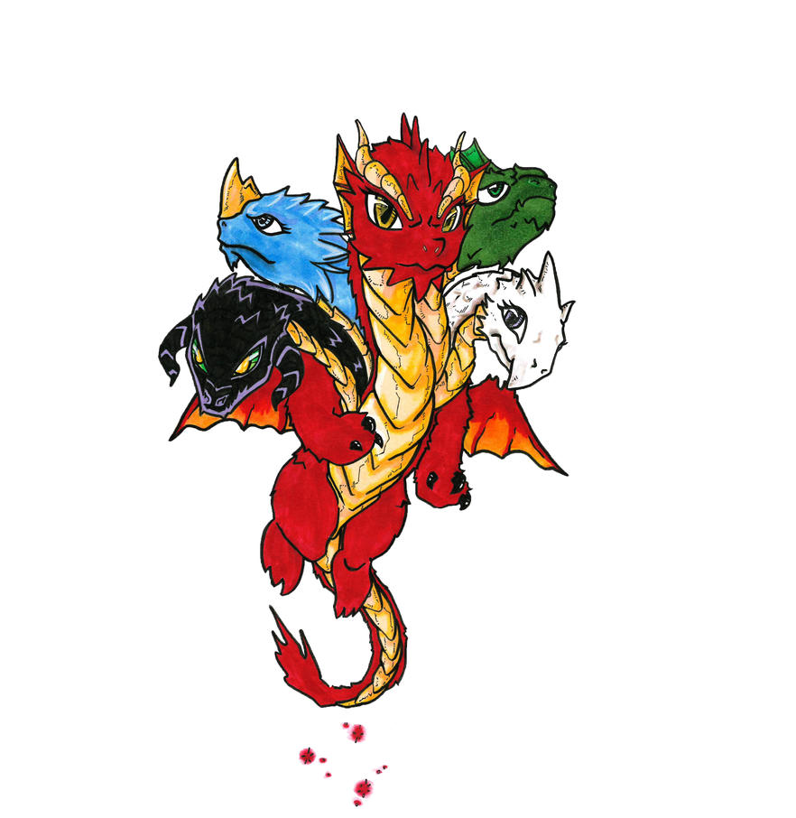 Chibi Tiamat by jestersforce