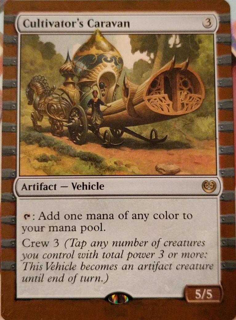 Cultivator's Caravan altered art border by jestersforce