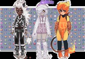 Pokemon Gijinka adopts (Closed)