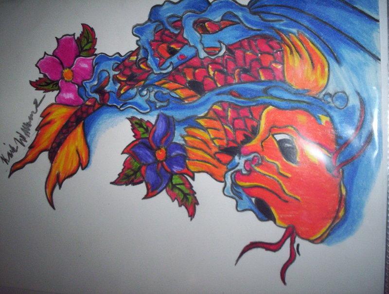 koi fish tattoo designs