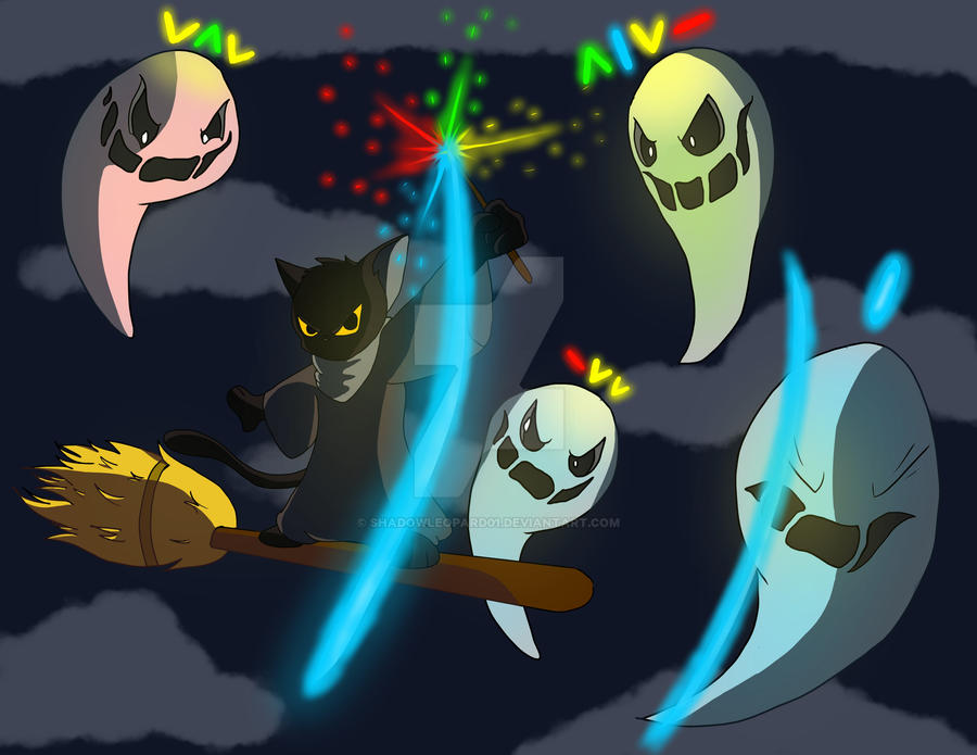 Happy Halloween Google Doodle by shadowleopard01 on DeviantArt