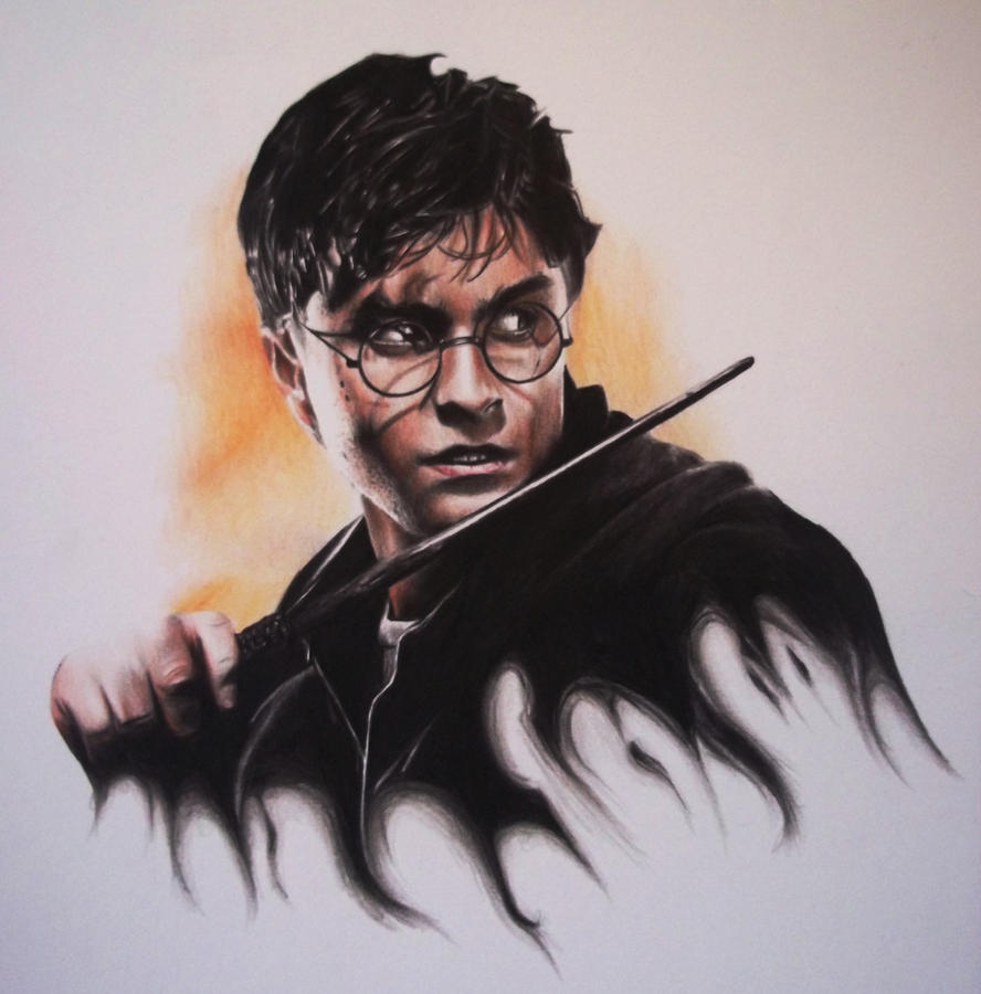 Harry potter Drawing by Lewis3222