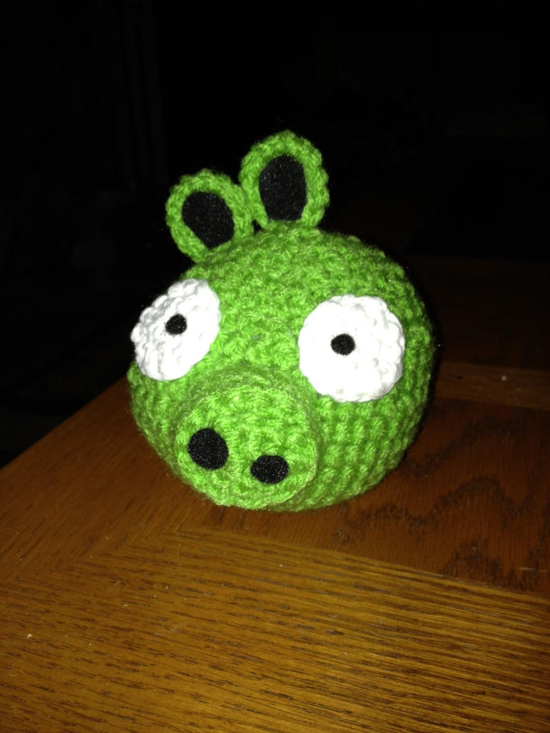Amigurumi Green Pig : Green Pig by Tirrivee on deviantART