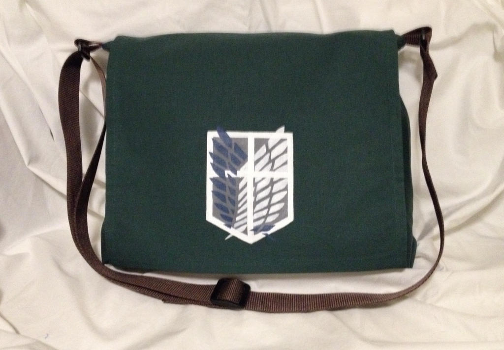 Attack on Titan Messenger Bag by Tirrivee