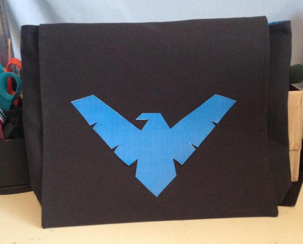 Nightwing Messenger Bag by Tirrivee