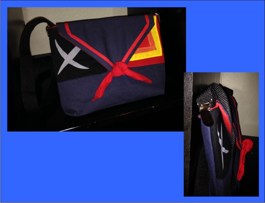 Kill la Kill Purse by Tirrivee