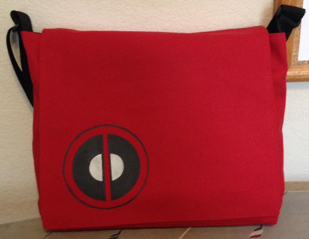 Deadpool Messenger Bag by Tirrivee