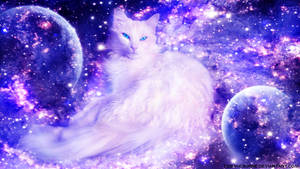 Cosmic Feline by CosmicBorne