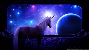 Scifi Unicornis by CosmicBorne