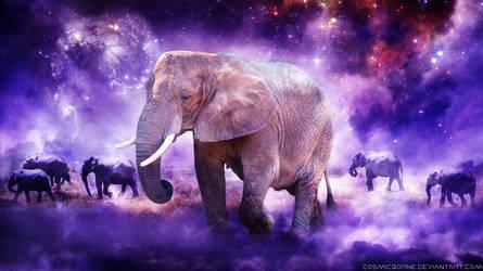 Africa's Elephants by CosmicBorne