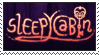 sleepycast/sleepycabin stamp by DrawingKittiesnPonys