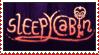 sleepycast/sleepycabin stamp by DrawingKittiesnPonys