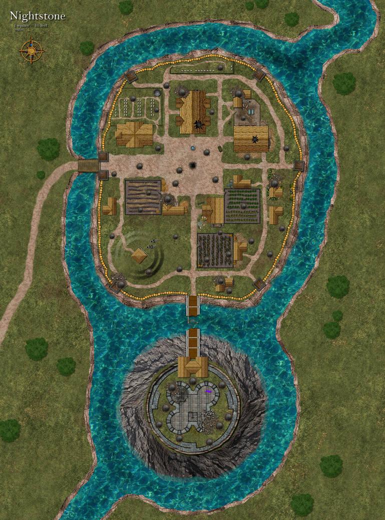 Dnd nightstone map