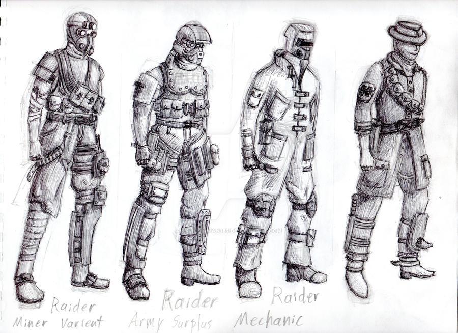 Desert Raiders by Randomman187