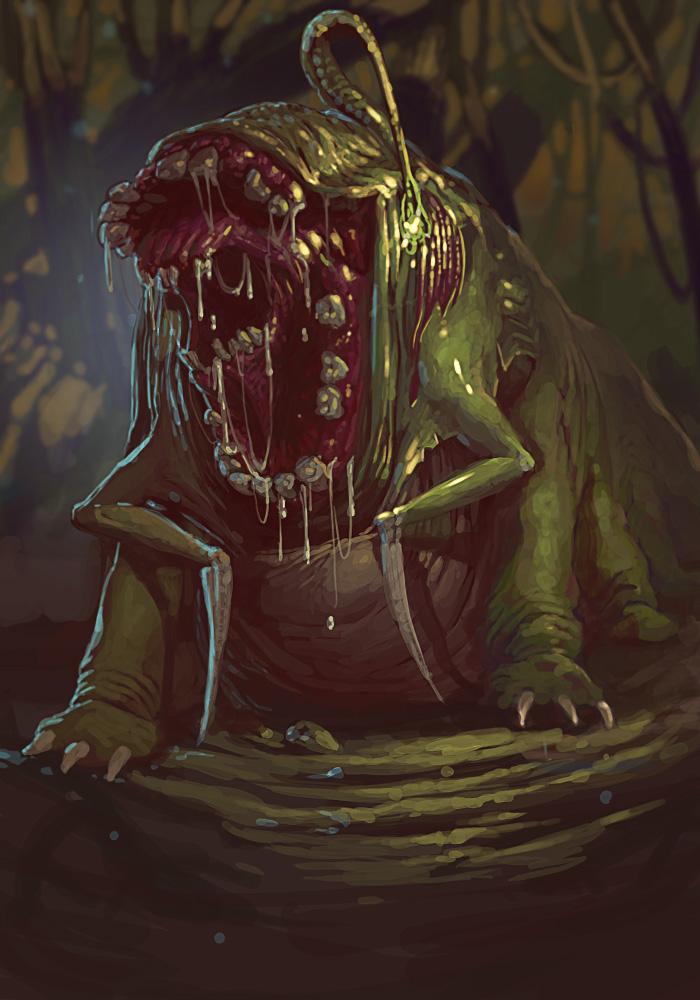 bog starving demon by taeyoonshim