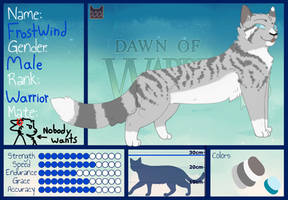 |But baby its cold outside| FrostWind Ref Sheet by RaveGalaxy