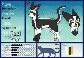 HoneyPaw ref by RaveGalaxy