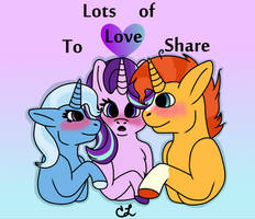 Lots of love to share. by RaveGalaxy