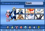 Player Card (Pokemon Platinum)