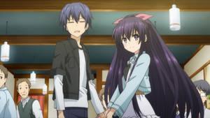 Shido and Tohka's date (Movie)