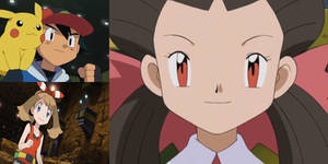 Pokemon: Rise of Heroes - Ash sees May vs. Roxanne