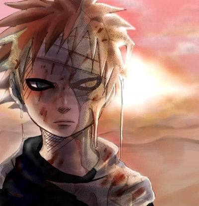 Sand on Face by tainted-world