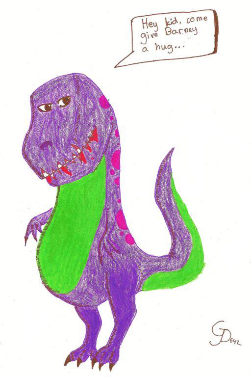 Barney The Dinosaur Evil