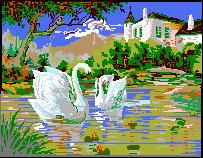 Swans by Turoel