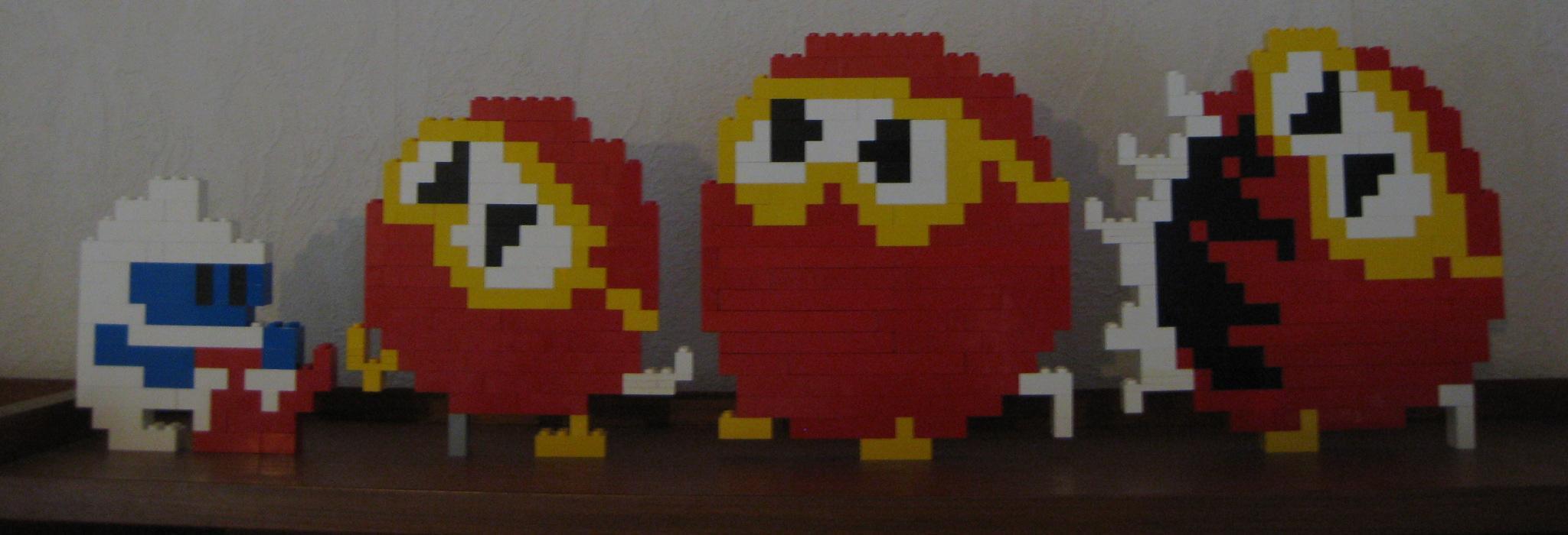 Lego - Digdug by Turoel