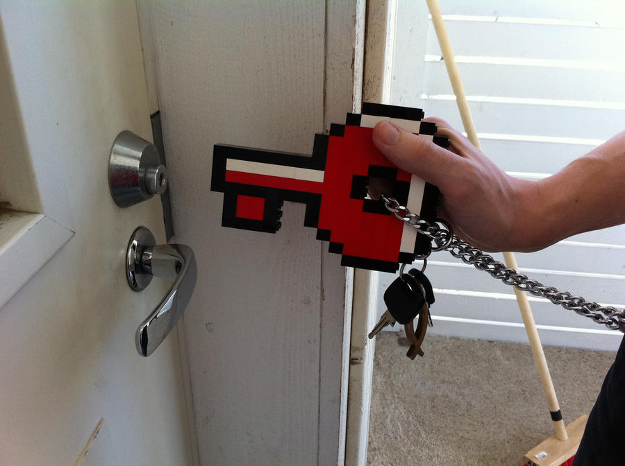 Lego - Mario 2 key by Turoel