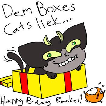 Happy birthday Raakelh! by Turoel