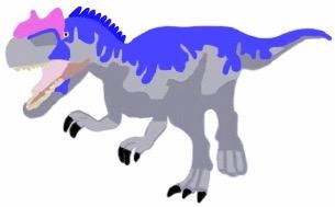 Allosaurus Dinosaur Ki...