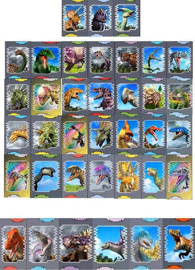 Dinosaur king all season 1 dinosaur cards by - Dinosaure king ...