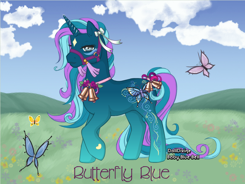 Butterfly Blue (CLOSED) by LilithStar1210