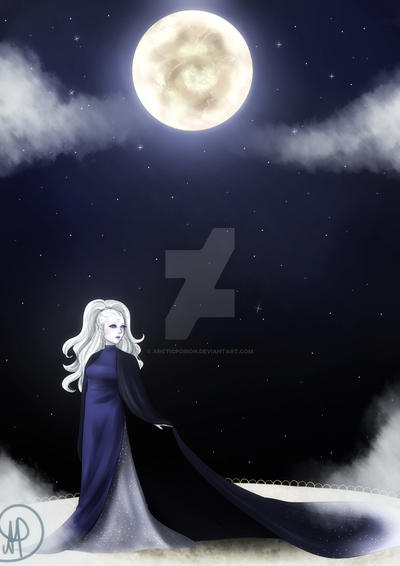 the moon by ArcticPoison