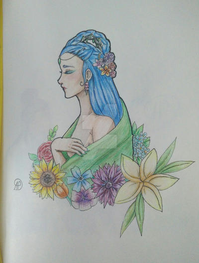 Flower Princess Part 2 by ArcticPoison