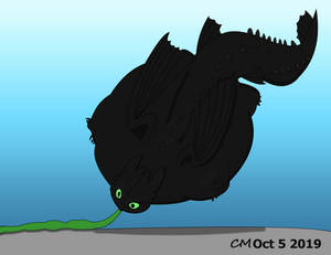 a Nicely inflated Toothless