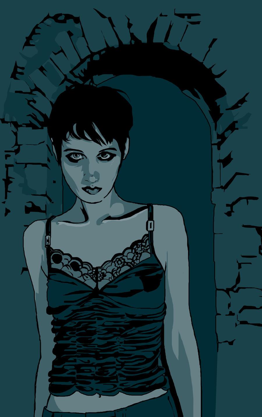 The Deathlings FanArt - Anne by JonathanWyke