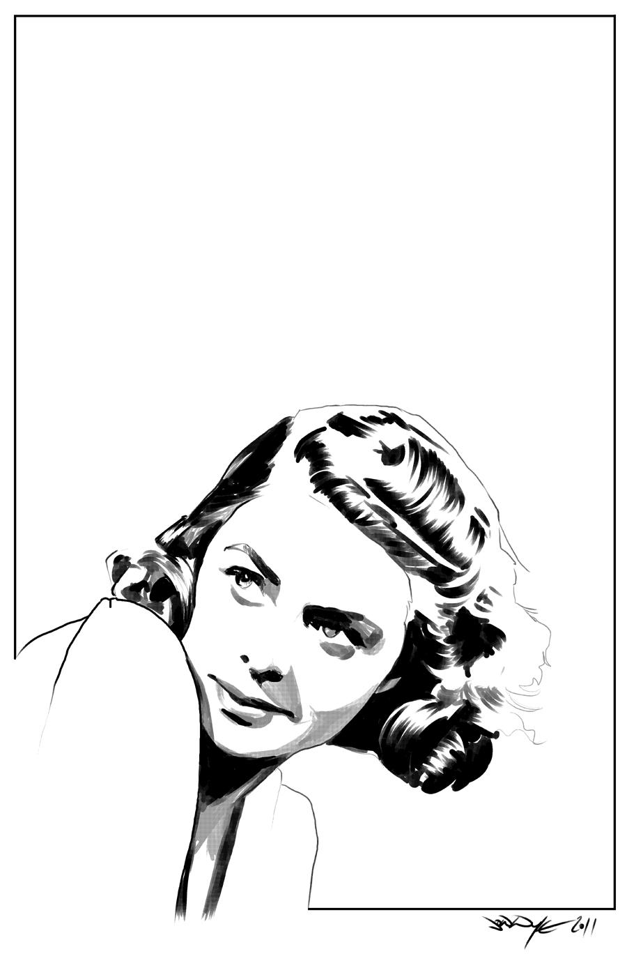FP Ingrid Bergman by JonathanWyke