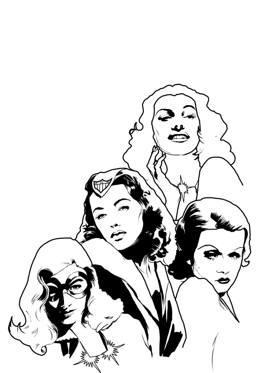 Women of Timely inks