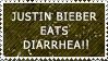 JUSTIN BIEBER EATS DIARRHEA by kat-in-the-box