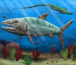 Swimming with Pachyrhizodus
