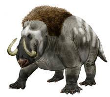 Mammuthodontosaurus by Zimices