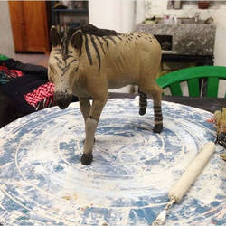 Equus neogeus in pottery by Zimices