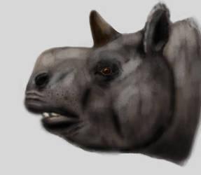Trigodon portrait by Zimices